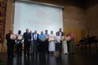 Cáritas Diocesana Sigüenza-Guadalajara entrega sus Premios de la Caridad en su 50 aniversario