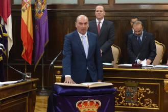 Discurso de investidura íntegro del nuevo presidente de Diputación, José Manuel Latre Rebled