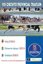 Este sábado arranca en Pareja el VIII Circuito Provincial de Triatlón