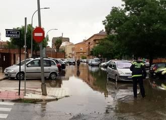 """Aure Hormaechea afirma que las lluvias de ayer demuestran una vez más """"la dejadez socialista"""" en el mantenimiento de infraestructuras para evitar inundaciones"""