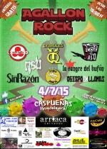 Caspueñas prepara la primera edición del Agallón Rock