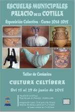 """Desde hoy se podrá visitar la exposición """"Cultura Celtíbera"""", muestra de los alumnos del Taller de Cerámica"""