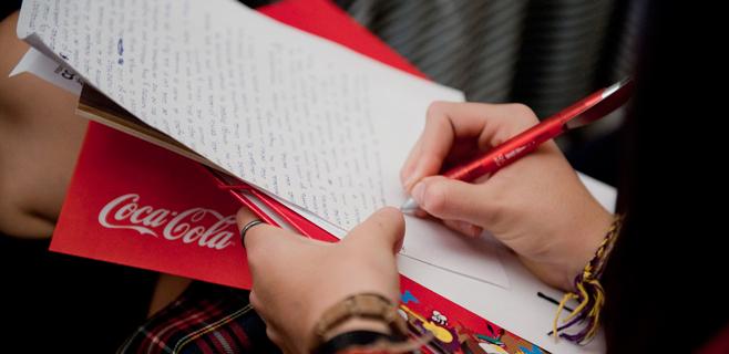 Un estudiantes de la SAFA gana un concurso promocionado por Coca Cola
