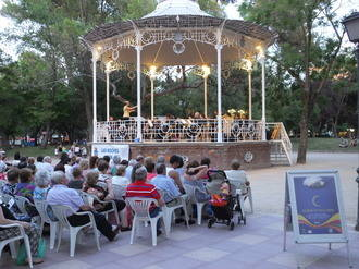 La Banda Provincial inicia sus actuaciones en 'Las Noches son para el Verano'