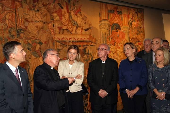 El obispo Atilano Rodríguez, premio Princesa de Éboli