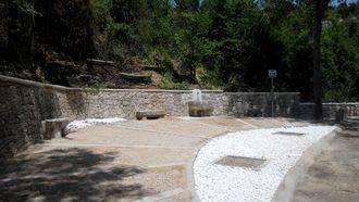 Terminan las obras de recuperación de la Fuente del Caño Dorado en Horche