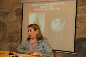 La UNED comienza en Guadalajara un curso sobre Santa Teresa de Jesús que acabará en Pastrana el viernes