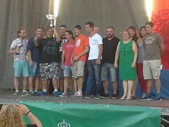 La IV Gala del Deporte premió a los deportistas más destacados de Alovera