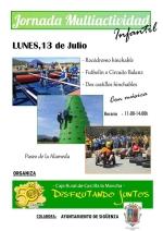 Este lunes día 13, jornada multiactividad en el seguntino Paseo de La Alameda