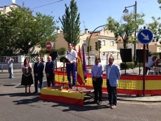 La Agrupación Provincial Ciudadanos (C's) Guadalajara participa en el homenaje a Miguel Ángel Blanco en el 18º aniversario de su asesinato a manos de ETA