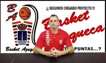 Sergio Vicente dirigirá al Basket Azuqueca en una nueva aventura en la Liga EBA