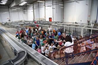 Lyreco Iberia abre las puertas de su centro logístico de Alovera para empleados y familiares