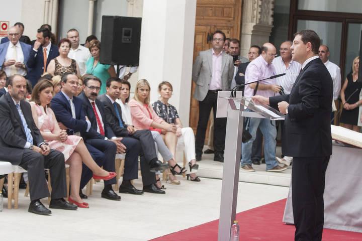 Los consejeros de Emiliano García-Page toman posesión de sus cargos