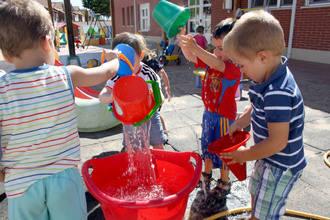 El Ayuntamiento de Quer mantiene abierta la escuela infantil Las Setitas en julio y agosto