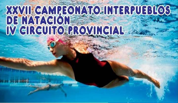 El sábado comienza el XXVII Campeonato Interpueblos de Natación que organiza Diputación