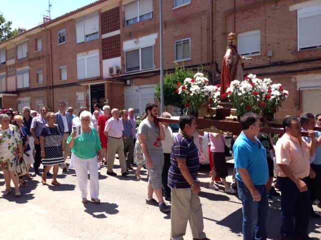 Los vecinos de Colonia Sanz Vázquez-Eras del Canario celebraron la festividad de San Pedro