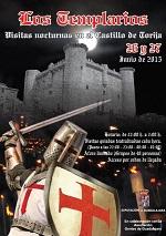 La Diputación propone visitas nocturnas al castillo de Torija para descubrir su origen templario