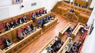 Prueba guadanews constituye su nuevo Parlamento tras la toma de posesión de sus 33 diputados