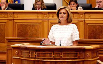 Prueba Cospedal será presidenta del Grupo Popular en las Cortes de Castilla-La Mancha