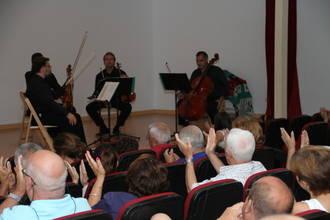 Bandas sonoras, según la Alcarria String Quartet, en el Julio Cultural de Trillo