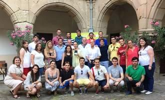 El PP 'hace piña' en la I Escuela de Verano de Nuevas Generaciones Guadalajara celebrada en Sigüenza