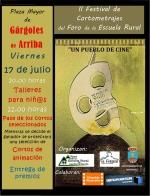 Gárgoles de Arriba acoge el II Festival de Cine del Foro de la Escuela Rural