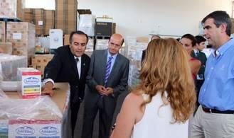El Ayuntamiento de Guadalajara ayudará a mejorar la seguridad del Banco de Alimentos