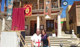 La diputada de Ciudadanos Guadalajara, Yolanda Ramírez, participa en la XI Fiesta de la Historia de Torija