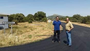 El Plan de Carreteras de Diputación sigue su curso por La Bodera