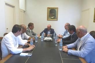 Diputación reafirma su compromiso con el Balonmano Guadalajara
