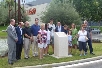 Unidad institucional y política en el acto de recuerdo a las víctimas del retén de Cogolludo