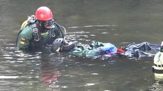 Rescatan el cuerpo del joven ahogado en el pantano de Beleña