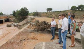 La Junta mantiene activado el PRICAM en fase de alerta tras las inundaciones en Almansa
