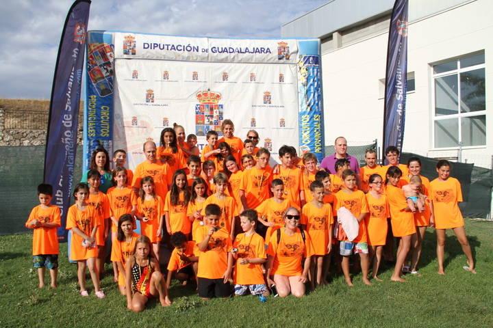 Marchamalo y Pareja se sumaron al XXVII Interpueblos de natación que organiza Diputación