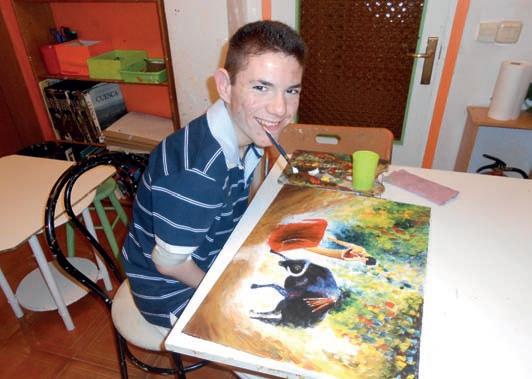 Este sábado llega a Millana la colección internacional de pintura de la Asociación de Pintores con la Boca y con el Pie