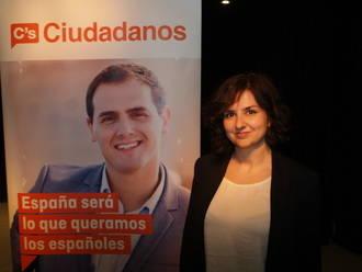 Orlena de Miguel, por tan solo dos votos, candidata de Ciudadanos (C's) al Congreso de los Diputados por Guadalajara