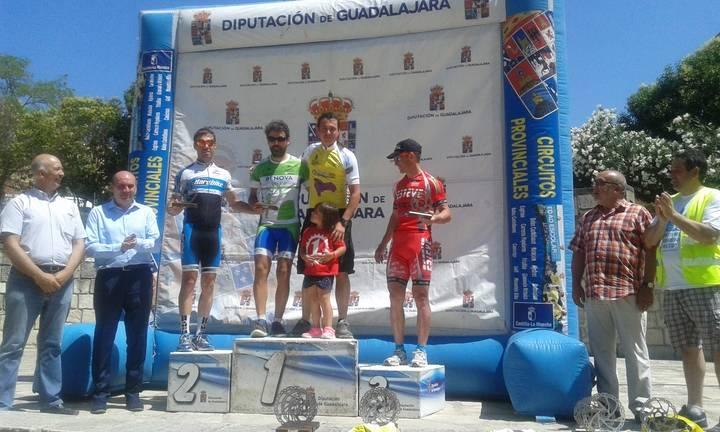 Más de 250 participantes en la octava prueba del Circuito MTB de la Diputación celebrada en Jadraque