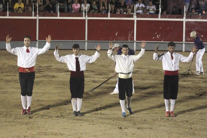 """El argandeño """"El Peta"""" gana un vistoso Concurso de Recortadores en Cabanillas"""