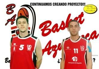 Ávaro Rojas y Sergio de la Rúa renuevan un año más por el Basket Azqueca