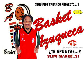 Slim Magge, fichaje de altura para un Basket Azuqueca que apunta alto