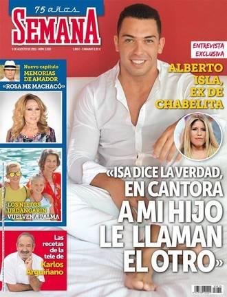 """SEMANA: Alberto Isla: """"En Cantora a mi hijo le llaman 'el otro'"""""""