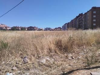 Ciudadanos de Guadalajara, preocupados por el estado de algunas parcelas y solares