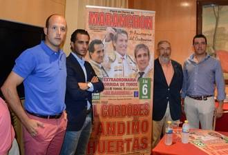El Cordobés, Fandiño y Huertas para celebrar los 100 años de la plaza de Maranchón