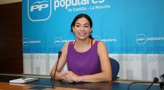 """La popular Claudia Alonso denuncia que """"Page pretende cambiar la ley para controlar RTVCM"""""""