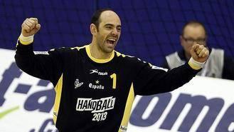 José Javier Hombrados, una leyenda para la portería del Balonmano Guadalajara
