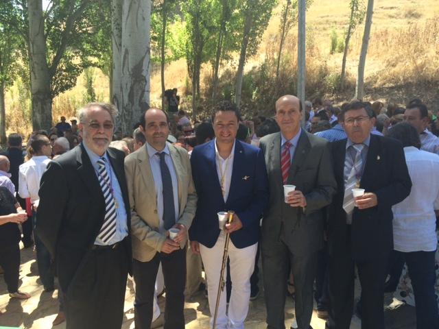 El subdelegado del Gobierno participa en la celebración de Santo Domingo de Guzmán en Loranca de Tajuña