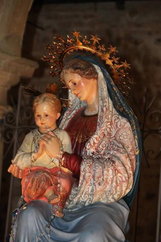 Quer celebró su fiesta patronal de la Virgen Blanca