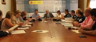El subdelegado del Gobierno en Guadalajara co-preside la Junta Local de Seguridad de Guadalajara y la de Alovera