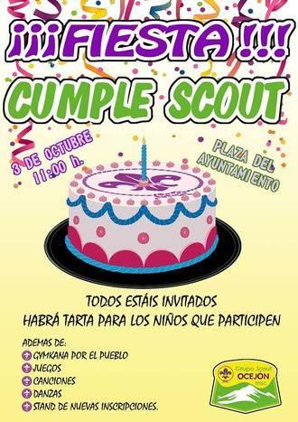 Los scout cabanilleros llenarán de actividad lúdica la Plaza del Pueblo, el próximo sábado