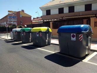Cambian los contenedores de basura de la capital por otros más modernos